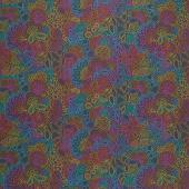 Art Theory - Rainbow Stitched Night Yardage