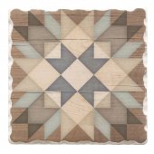 Barn Quilts Coaster - Starburst