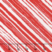 Make Merry - Wrapping Stripe Red Yardage