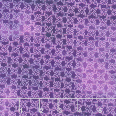 Dreamscapes II - Circle Weave Purple Digitally Printed Yardage