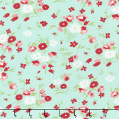 Little Snippets - Fresh Cut Aqua Yardage