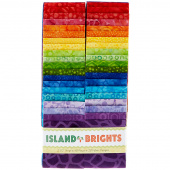 Island Bright Batiks Strips