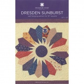Dresden Sunburst Wall Hanging Pattern by Missouri Star