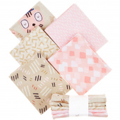 Little Friends Pink Fat Quarter Bundle