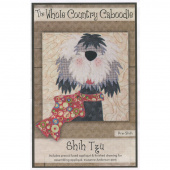 Shih Tzu Precut Fused Appliqué Pack