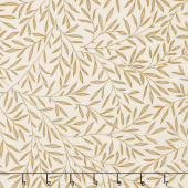 Kelmscott - Lily Leaf Tan Yardage