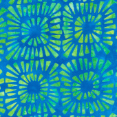 Artisan Batiks - Aviva Triangles Caribbean Yardage