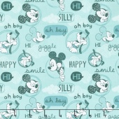 Mickey Mouse - Friends Rainwater Yardage