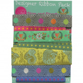 Tula Pink Slow & Steady Designer Ribbon Pack