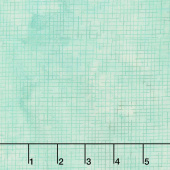 Make a Wish - Hydrangea Grid Texture 1 Turquoise Digitally Printed Yardage
