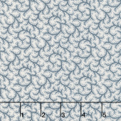 Portsmouth - Thorns Stone Blue Yardage