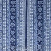 La Provence - Stripes Royal Yardage
