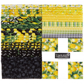 "Splash of Lemon 10"" Squares"