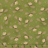 Another Moose Is Loose - Moosehead with Houndstooth Green Yardage