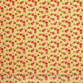 Little Ruby - Little Rosie Green Yardage