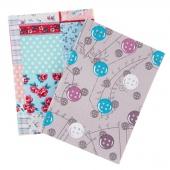 Fabric Covered Notebook - Medium