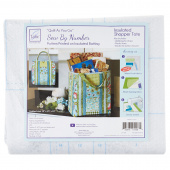 Insulated Shopper Tote Quilt As You Go Sew By Number Preprinted Insulated Batting