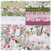 Orchids in Bloom Tiles