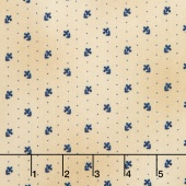 Liberty Hill - Daisy Dot Cream Yardage