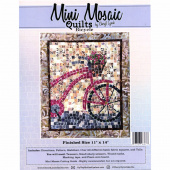 Mini Mosaic Quilts Bicycle Pattern