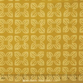 Seedling II - Block Flower Gold Yardage