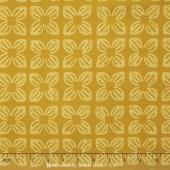 Seedling II - Block Flower Gold Yardage