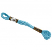 Presencia 6 Ply Cotton Embroidery Floss Light Turquoise