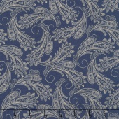 Ranch Hands - Bandana Blue Yardage