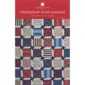 Friendship Star Sashing Pattern by Missouri Star