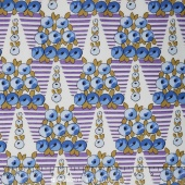 Downton Abbey - The Lady Rose Collection Topiary Blue Yardage