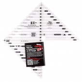 "Creative Grids® 6"" Flying Geese & 45/90 Degree Triangle Ruler"