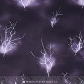 Lighthouse Wonders - Lightning Sky Purple Yardage