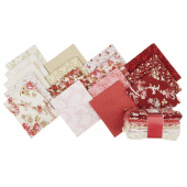 Rhapsody in Reds Fat Quarter Crystals