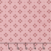 Burgundy & Blush - Foulard Dot Pink Yardage