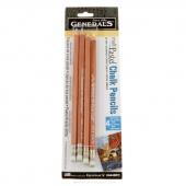 Pastel Chalk Pencils (4ct of Cool Pastel Colors)