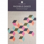 Rhombus Dance Quilt Pattern by Missouri Star
