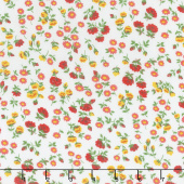 Sugar Sack - Mini Floral Ivory Yardage