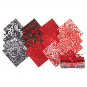 Fire & Ice Batiks II Fat Quarter Bundle