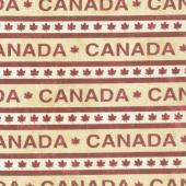 Canadian Classics - Canada Stripe Beige Yardage