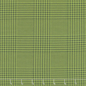 The Christmas Card - Tweed Green Charcoal Yardage