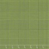 The Christmas Card - Tweed Green Charcoal Yardage