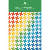 Breezy Windmills Quilt Pattern by Missouri Star