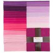 Kona Cotton - Wildberry Palette Ten Squares