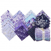 Violet Twilight Pearlized Fat Quarter Bundle