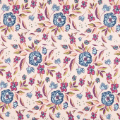 Mystical Land - Enchanted Flora Ablush Pink Yardage