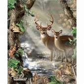 Realtree - Deer Quilt Panel
