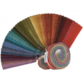 "Woolies Flannel Colors Vol. 2 2.5"" Strips"