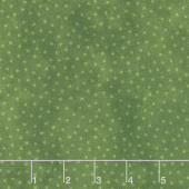 Deck the Halls - Dots Green Yardage