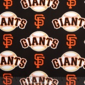 MLB Major League Baseball - San Francisco Giants Allover Yardage