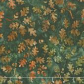 Artisan Batiks - Cornucopia 10 Leaves Leaf Yardage